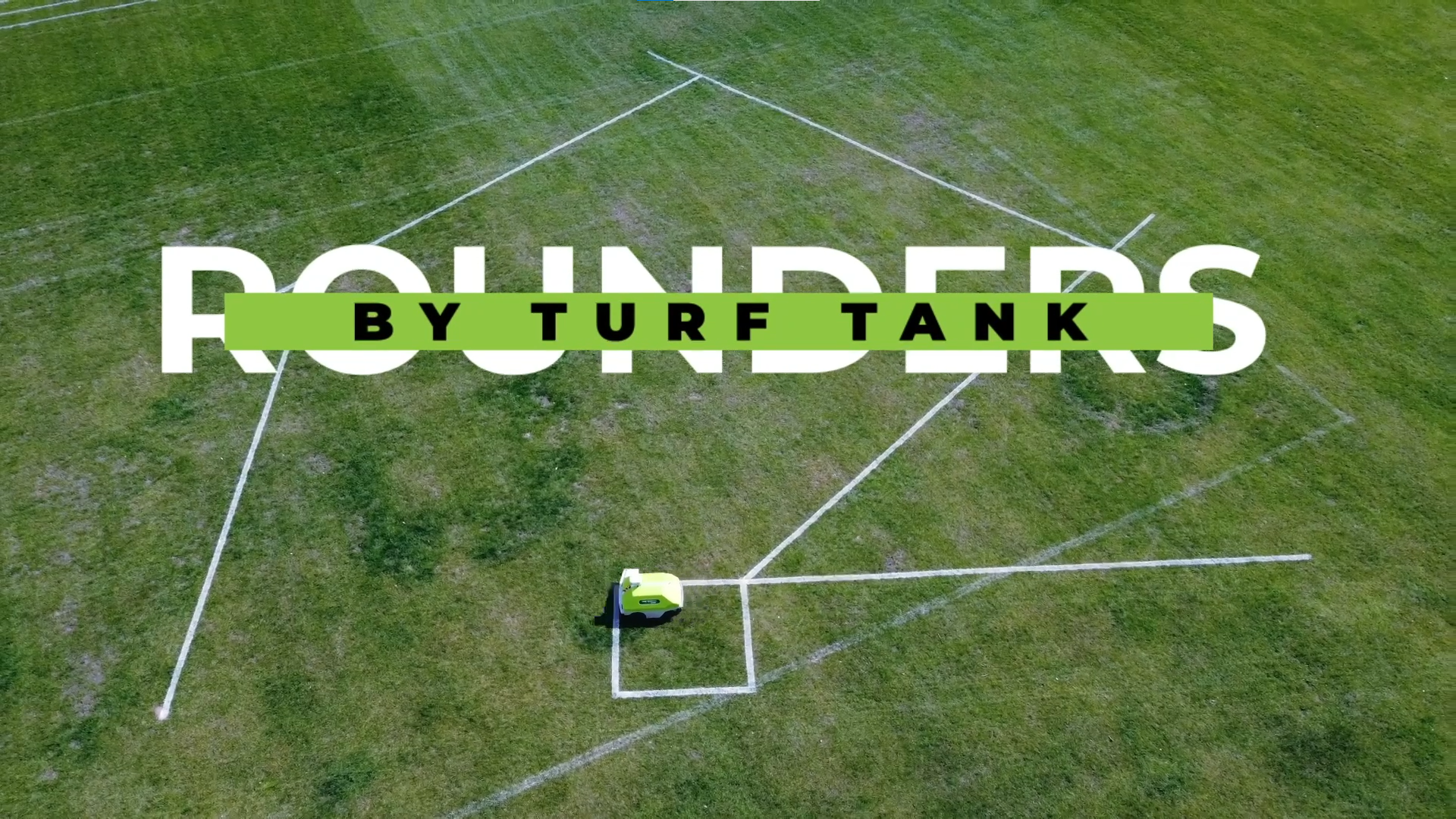 Turf Tank - Robot for rounders pitch markings